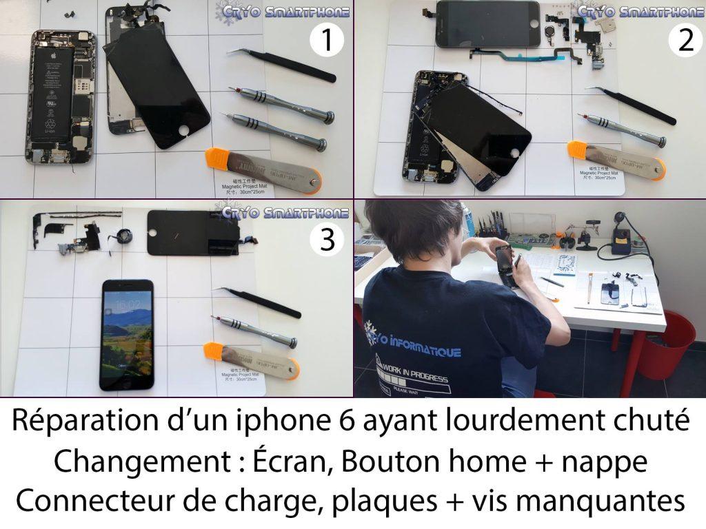 réparation smartphone et outillage