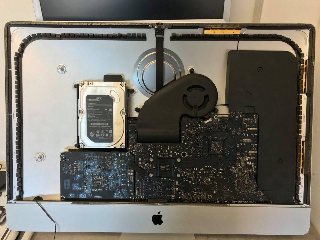 Remontage iMac